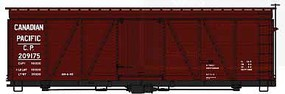 Accurail HO KIT 36 Fowler Wood Box, CPR