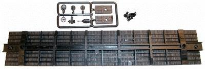 Accurail 50' Boxcar Floor and Detail Kit -- HO Scale Model Train Freight Car Accessory -- #120