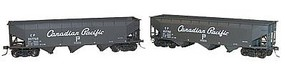 Accurail 70-Ton Triple Hopper Car Kit CP #357782, 357760 HO Scale Model Train Freight Car Kit #1208