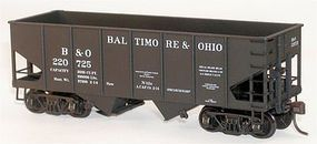 Accurail USRA Twin Hopper Baltimore & Ohio (3) HO Scale Model Train Freight Car Kit #1222