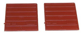 Accurail 8 Superior Boxcar Door pkg(2)