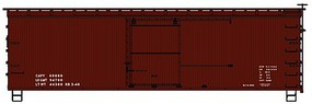 Accurail HO KIT 36 WE/DS Straight Frame Box, Data Only/Red