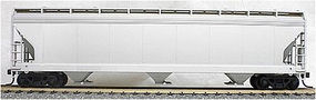 Accurail 47' 3-Bay Center-Flow Covered Hopper Kit Undecorated HO Scale Model Train Freight Car #2000