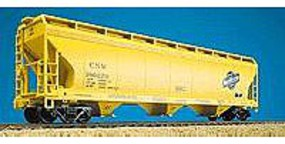 Accurail 47 3-Bay Covered Hopper Kit Chicago & North Western HO Scale Model Train Freight Car #2006