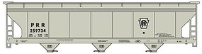 Accurail ACF Covered Hopper Pennsylvania RR Kit HO Scale Model Train Freight Car #20161