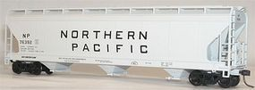 Accurail 47 3-Bay Center Flow Covered Hopper Northern Pacific HO Scale Model Train Freight Car #2031