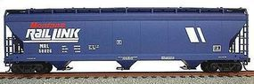 Accurail 47 3-Bay Center Flow Covered Hopper Montana Rail Link HO Scale Model Train Freight Car #2043