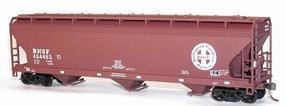 Accurail 47 3-Bay Covered Hopper Burlington Northern Santa Fe HO Scale Model Train Freight Car #2049