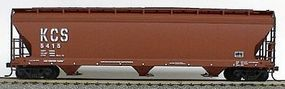 Accurail 47 3-Bay Covered Hopper Kansas City Southern HO Scale Model Train Freight Car #2053