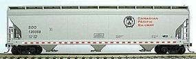 Accurail 47 3-Bay Center Flow Covered Hopper Canadian Pacific HO Scale Model Train Freight Car #2058
