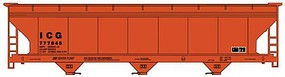 Accurail NYA HO Kit 3-Bay Hopper, ICG