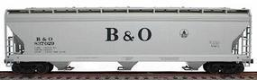47' 3-Bay Covered Hopper Kit Baltimore & Ohio HO Scale Model Train Freight Car #2075