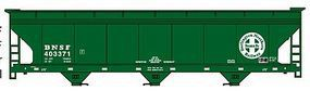 BNSF ACF 3-Bay Centerflow Covered Hopper Kit HO Scale Model Train Freight Car #2093