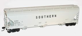 Accurail Southern ACF 3-Bay Centerflow Covered Hopper Kit HO Scale Model Train Freight Car #2095