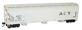 Accurail 3-Bay ACF Covered Hopper ACY Kit HO Scale Model Train Freight Car #2097