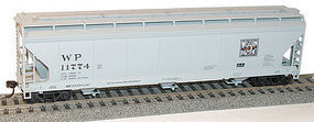 Accurail 3-Bay Center-Flow Covered Hopper Kit Western Pacific HO Scale Model Train Freight Car #2104