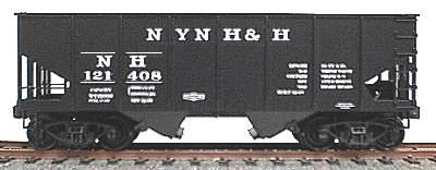 Accurail USRA 55-Ton 2-Bay Coal Hopper Kit - New Haven HO Scale Model Train Freight Car #2407