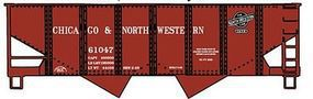 Accurail Chicago & North Western USRA 55-Ton Hopper Kit HO Scale Model Train Freight Car #2425