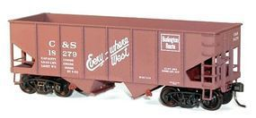 Accurail 2-Bay 55-Ton Open Hopper CB&Q HO Scale Model Train Freight Car #25123