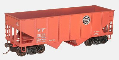 Accurail 55-Ton 2-Bay Open Hopper Kit Southern Pacific #13152 -- HO Scale Model Train Freight Car -- #25142