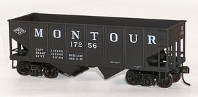 Accurail USRA 55 Ton Twin Hopper Montour Kit HO Scale Model Train Freight Car #25261