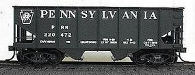 Accurail 2-Bay 55-Ton Open Hopper - Kit - Pennsylvania Railroad HO Scale Model Train Freight Car #2537