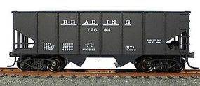 Accurail USRA 2-Bay 55-Ton Open Hopper Kit Reading - Early Style HO Scale Model Train Freight Car #2549