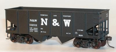 Accurail 55-Ton USRA Twin Hopper - 12-Pack -- Norfolk & Western - HO-Scale