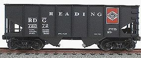 Accurail 2-Bay 55-Ton Open Hopper 3-Pack Kit Reading #72572 HO Scale Model Train Freight Car #2569