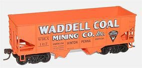 Accurail Waddell Coal USRA 55-Ton Hopper HO Scale Model Train Freight Car #2576