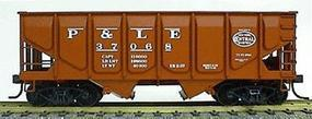 Accurail 55-Ton Panel-Side 2-Bay Hopper Pittsburgh & Lake Erie HO Scale Model Train Freight Car #2805