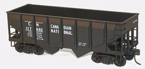 Accurail 55-Ton Panel-Side Two-Bay Hopper Kit Canadian National HO Scale Model Train Freight Car #28111