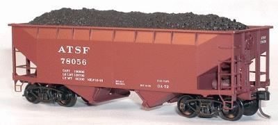 Accurail Coal Loads fits Accurail Twin Hoppers HO Scale Model Train Freight Car #304
