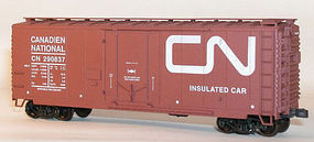 Accurail 40 AAR Plug Door Boxcar Canadian National Worm HO Scale Model Train Freight Car #3116