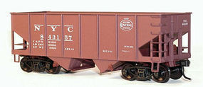Accurail USRA Hopper pkg(3) - New York Central HO Scale Model Train Freight Car #32504