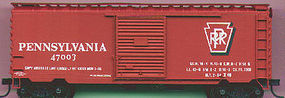 Accurail Pennsylvania 40 Steel PS1 Boxcar HO Scale Model Train Freight Car #3421