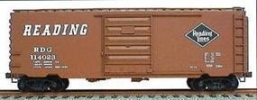 Accurail 40 PS-1 Steel Boxcar Kit Reading (Mineral Red) HO Scale Model Train Freight Car #3427