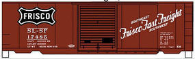 Accurail 40 Steel Boxcar SLSF HO Scale Model Train Freight Car #34331