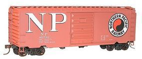 Accurail 40 PS-1 Steel Boxcar - Kit - Northern Pacific #45736 HO Scale Model Train Freight Car #34371