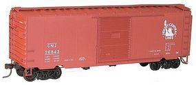 Accurail Central New Jersey 40' Steel PS1 Boxcar HO Scale Model Train Freight Car #3451