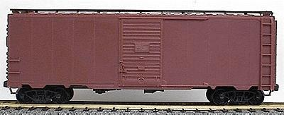 Accurail AAR 40' Single-Door Steel Boxcar - Kit - Undecorated -- HO Scale Model Train Freight Car -- #3500