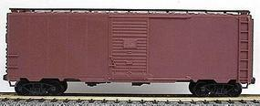 Accurail AAR 40 Single-Door Steel Boxcar - Kit - Undecorated HO Scale Model Train Freight Car #3500