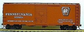 Accurail 40 Single-Door Steel Boxcar Kit Pennsylvania HO Scale Model Train Freight Car #3503