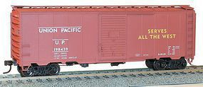 40' AAR Steel Boxcar Union Pacific HO Scale Model Train Freight Car #35049