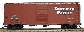 Accurail 40 Single-Door Steel Boxcar Kit Southern Pacific HO Scale Model Train Freight Car #3507