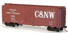 Accurail 40 Single-Door Steel Boxcar Chicago & North Western HO Scale Model Train Freight Car #35131