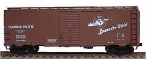 Accurail 40 Single-Door Steel Boxcar Kit Canadian Pacific HO Scale Model Train Freight Car #3523