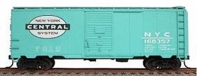 Accurail 40' Single-Door Steel Boxcar Kit New York Central HO Scale Model Train Freight Car #3524