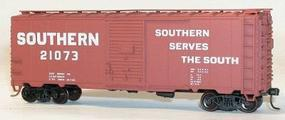 Southern 40' AAR Steel Boxcar HO Scale Model Train Freight Car #3532