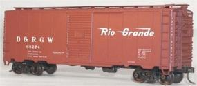 Accurail Denver & Rio Grande Western 40' AAR Steel Boxcar HO Scale Model Train Freight Car #3539